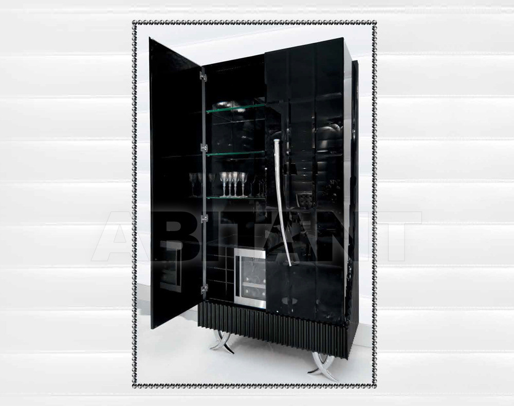 Купить Шкаф Isacco Agostoni Contemporary 1316 2 DOORS GLASS CABINET