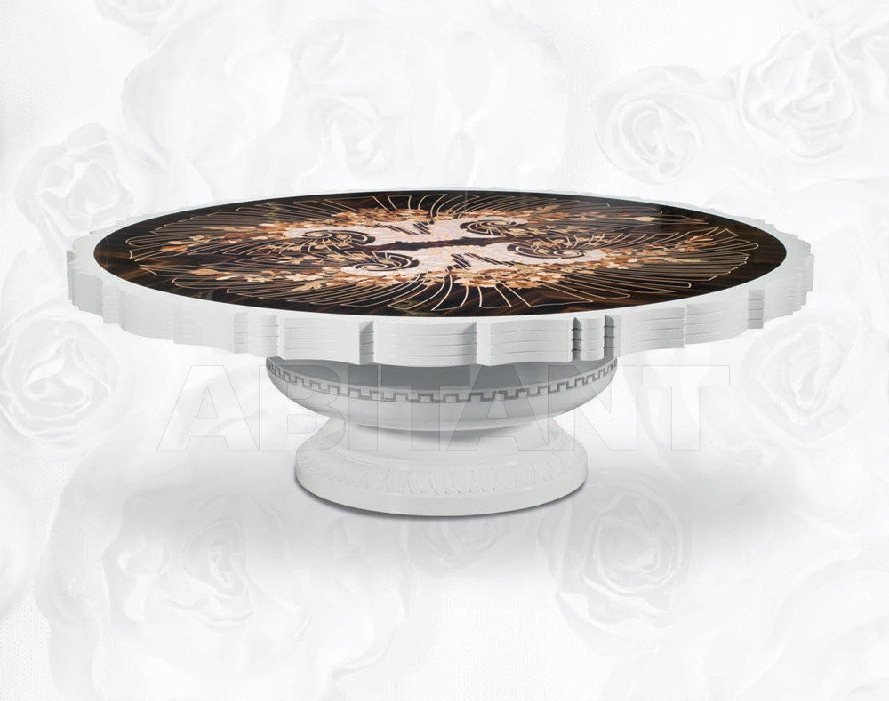 Купить Столик кофейный Isacco Agostoni Contemporary 1346 ROUND CENTRAL COFFEE TABLE