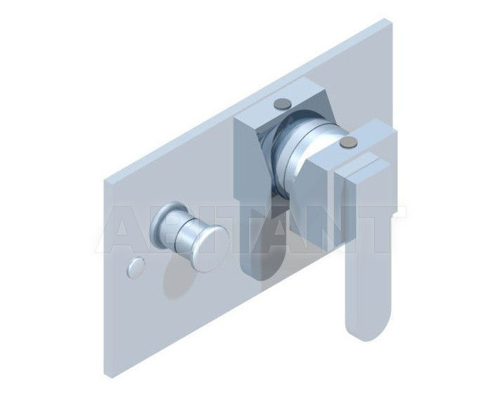 Купить Встраиваемые смесители THG Bathroom A6A.6550 Profil métal