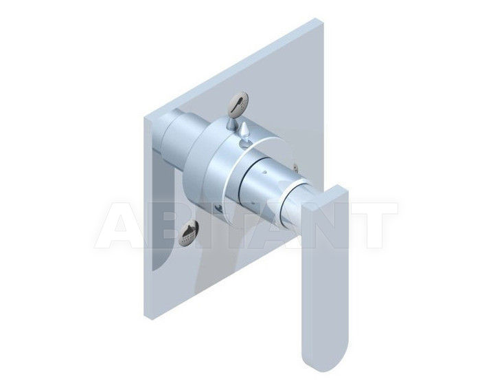 Купить Переключатель THG Bathroom A6B.49/3VM Profil metal with lever