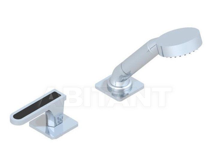 Купить Смеситель для ванны THG Bathroom A6P.6532/60A Profil black Onyx with lever