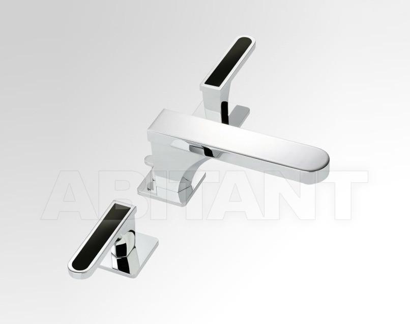Купить Смеситель для раковины THG Bathroom A6P.151 Profil black Onyx with lever