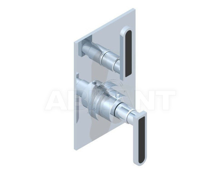 Купить Смеситель термостатический THG Bathroom A6P.5300B Profil black Onyx with lever