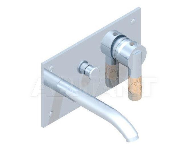 Купить Встраиваемые смесители THG Bathroom A34.6570G Bambou Amber crystal