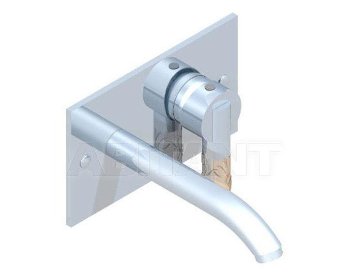 Купить Смеситель настенный THG Bathroom A34.6560G Bambou Amber crystal