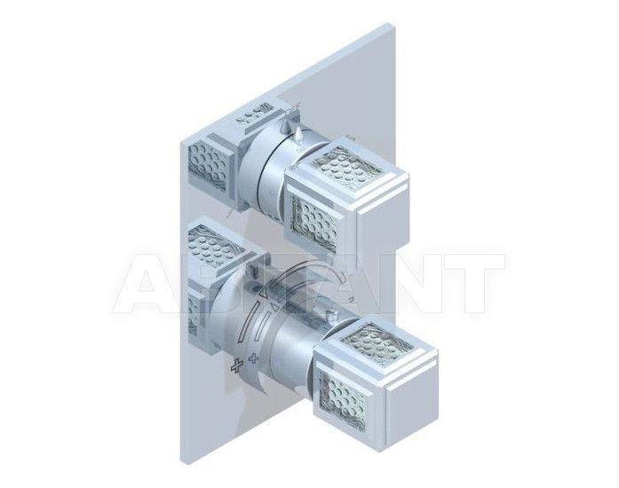 Купить Смеситель термостатический THG Bathroom A2A.5500B Métropolis clear crystal