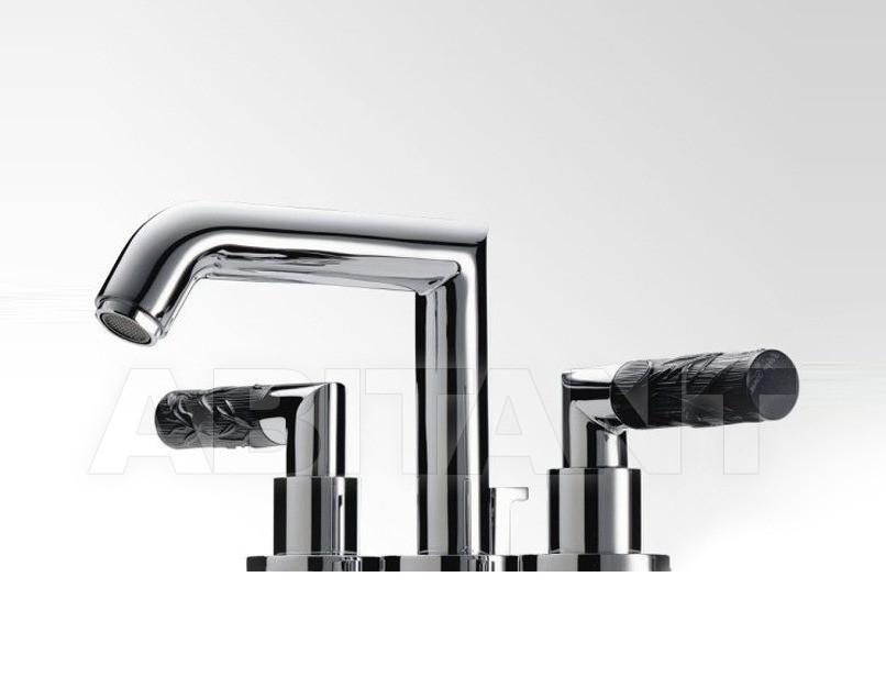 Купить Смеситель для раковины THG Bathroom A33.151M Bambou black crystal
