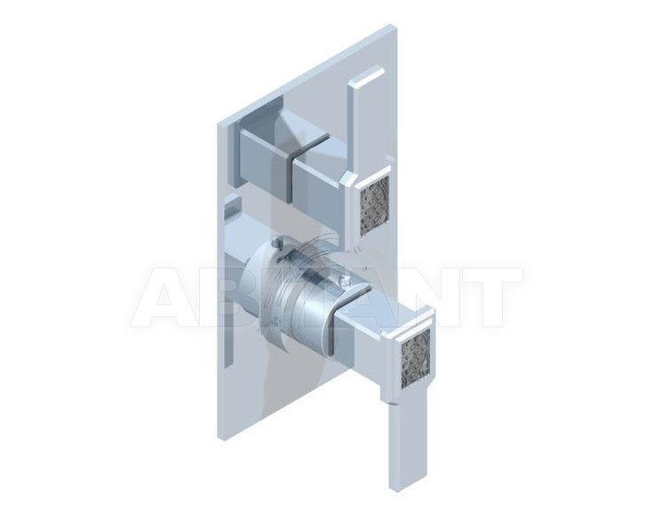 Купить Смеситель термостатический THG Bathroom A2B.5300B Métropolis clear crystal with lever