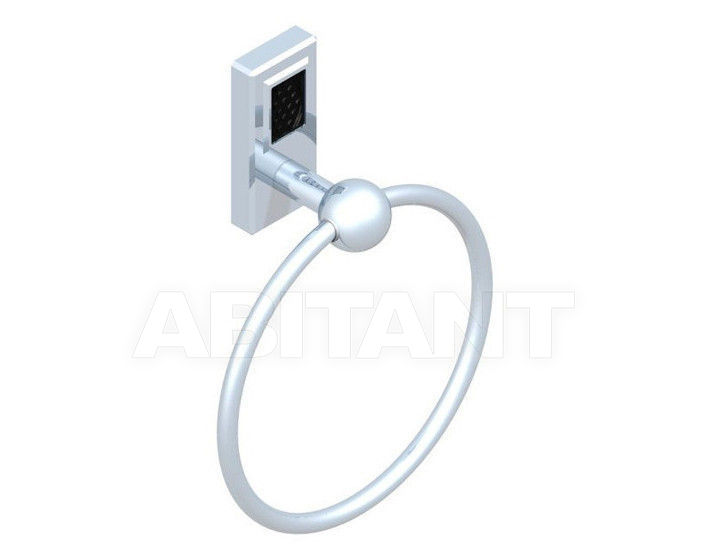 Купить Держатель для полотенец THG Bathroom A2L.504N Métropolis black crystal