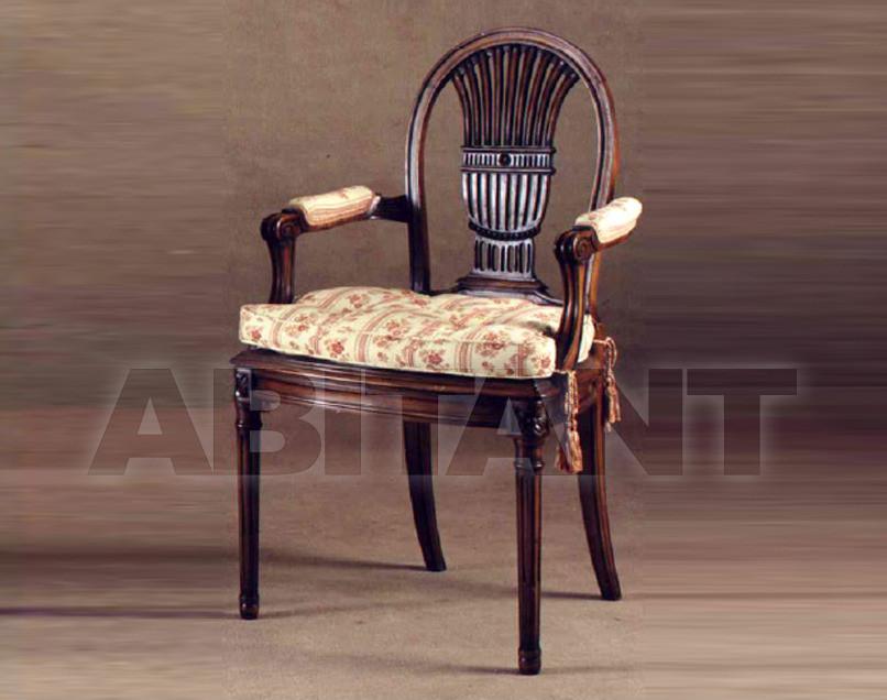 Купить Стул с подлокотниками P. & G. Cugini Lanzani 2013 4416