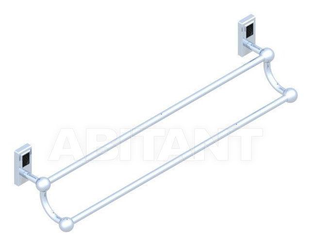Купить Держатель для полотенец THG Bathroom A2L.516 Métropolis black crystal