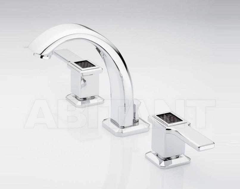 Купить Смеситель для раковины THG Bathroom A2M.151M Metropolis black crystal with lever