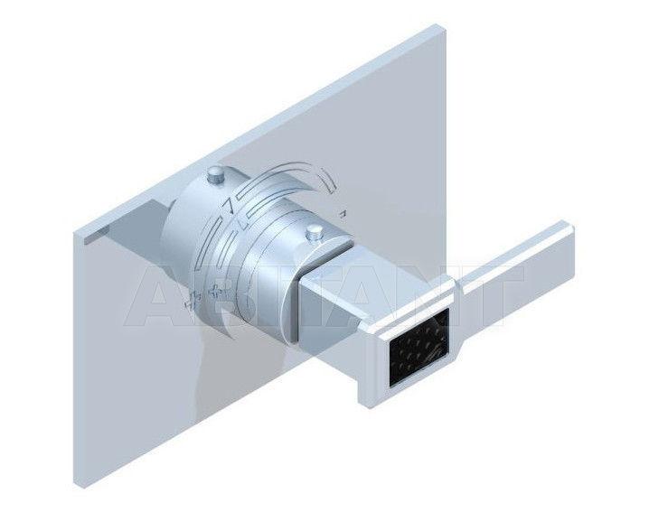 Купить Смеситель термостатический THG Bathroom A2M.5100B Metropolis black crystal with lever