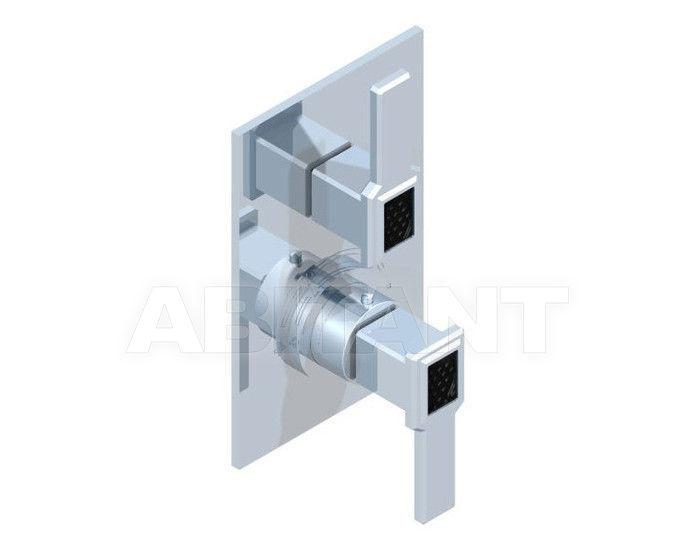 Купить Смеситель термостатический THG Bathroom A2M.5300B Metropolis black crystal with lever