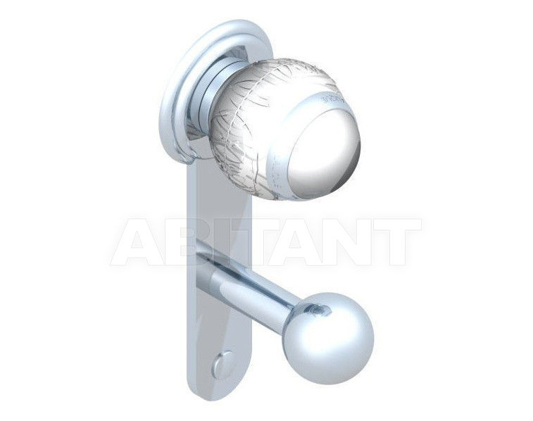 Купить Крючок THG Bathroom A2H.517 Panthere clear crystal