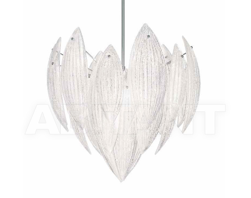 Купить Люстра IDL Export Dolce Vita Luxury Lighting 430/62 Silver Leaf Murano Glass