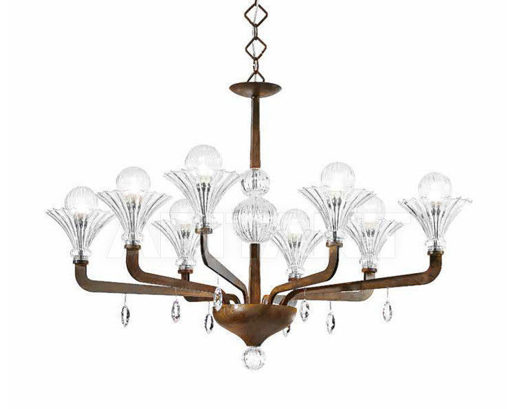 Купить Люстра IDL Export Dolce Vita Luxury Lighting 472/4+4