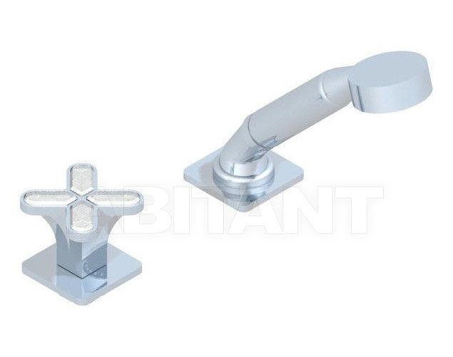 Купить Смеситель для ванны THG Bathroom A6G.6532/60A Profil Lalique clear crystal