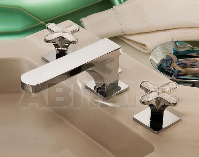 Купить Смеситель для раковины THG Bathroom A6G.151M Profil Lalique clear crystal