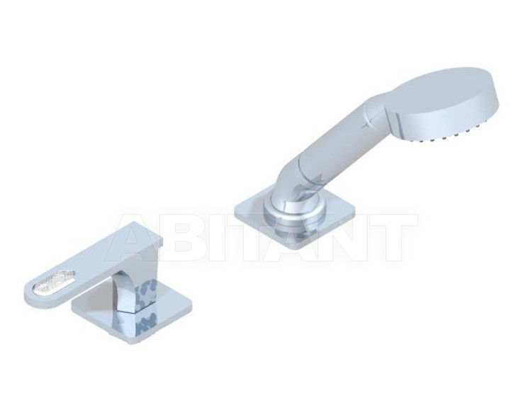Купить Смеситель для ванны THG Bathroom A6H.6532/60A Profil Lalique clear crystal with lever