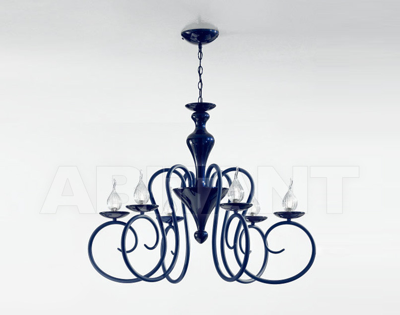 Купить Люстра IDL Export Luce Da Vivere Living Lighting 461/6 Blu