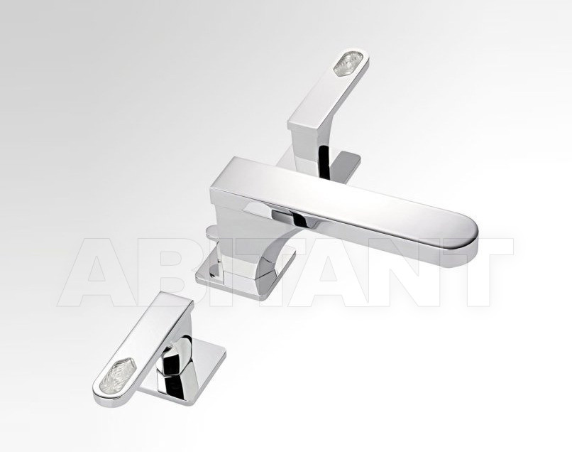Купить Смеситель для раковины THG Bathroom A6H.151 Profil Lalique clear crystal with lever