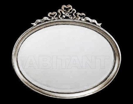 Купить Зеркало настенное Vaccari International Gli Specchi Di Alice 1 6 9 0 argento