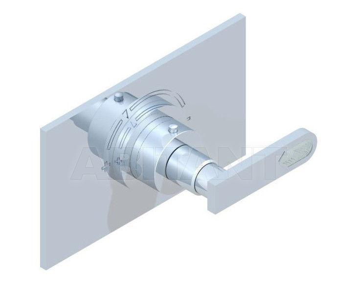 Купить Смеситель термостатический THG Bathroom A6H.5100B Profil Lalique clear crystal with lever