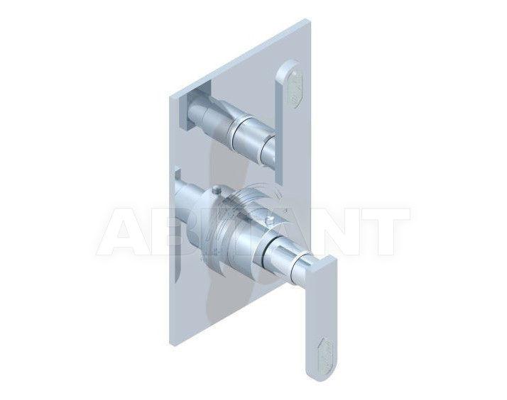Купить Смеситель термостатический THG Bathroom A6H.5300B Profil Lalique clear crystal with lever