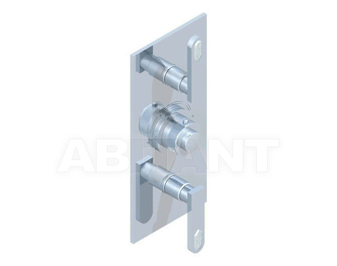 Купить Смеситель термостатический THG Bathroom A6H.5400B Profil Lalique clear crystal with lever