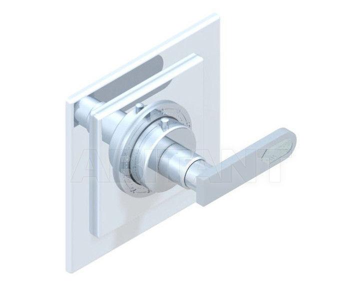Купить Смеситель термостатический THG Bathroom A6H.15EN16EC Profil Lalique clear crystal with lever