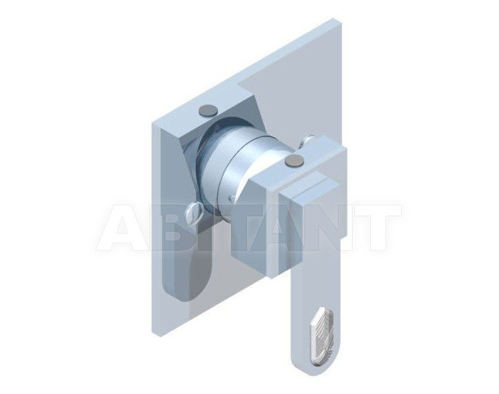 Купить Встраиваемые смесители THG Bathroom A6H.6540 Profil Lalique clear crystal with lever