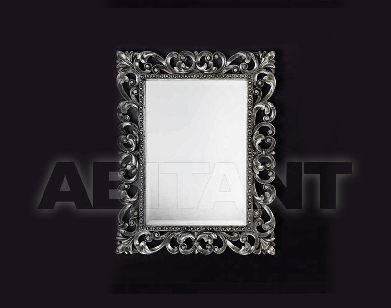 Купить Зеркало настенное Vaccari International Gli Specchi Di Alice 1 2 4 2 argento