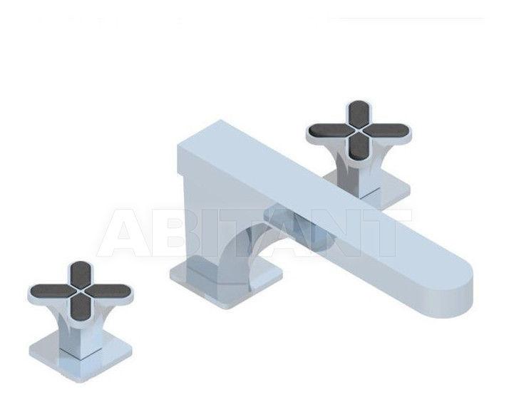 Купить Смеситель для раковины THG Bathroom A6L.25SG Profil Lalique black crystal