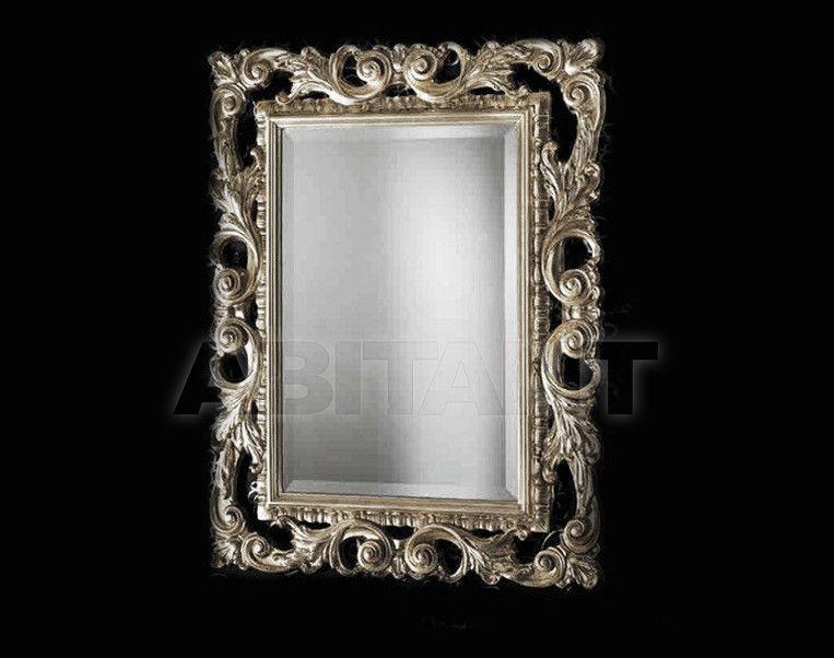 Купить Зеркало настенное Vaccari International Gli Specchi Di Alice 1 3 8 1 argento