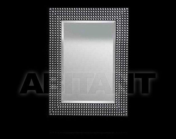 Купить Зеркало настенное Vaccari International Gli Specchi Di Alice 530 Black