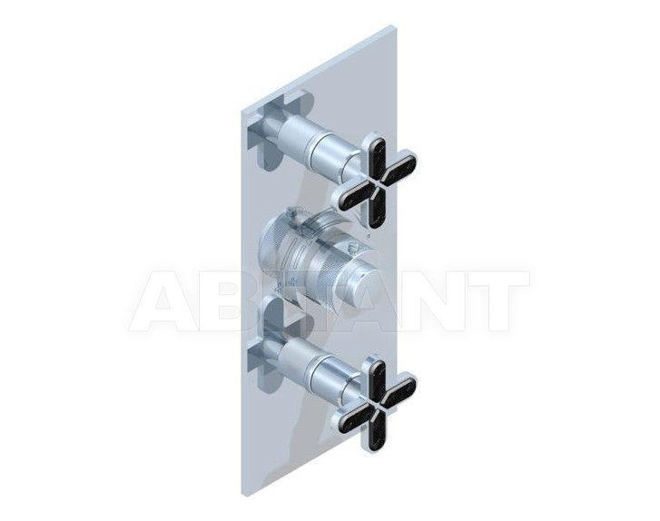 Купить Смеситель термостатический THG Bathroom A6L.5400B Profil Lalique black crystal