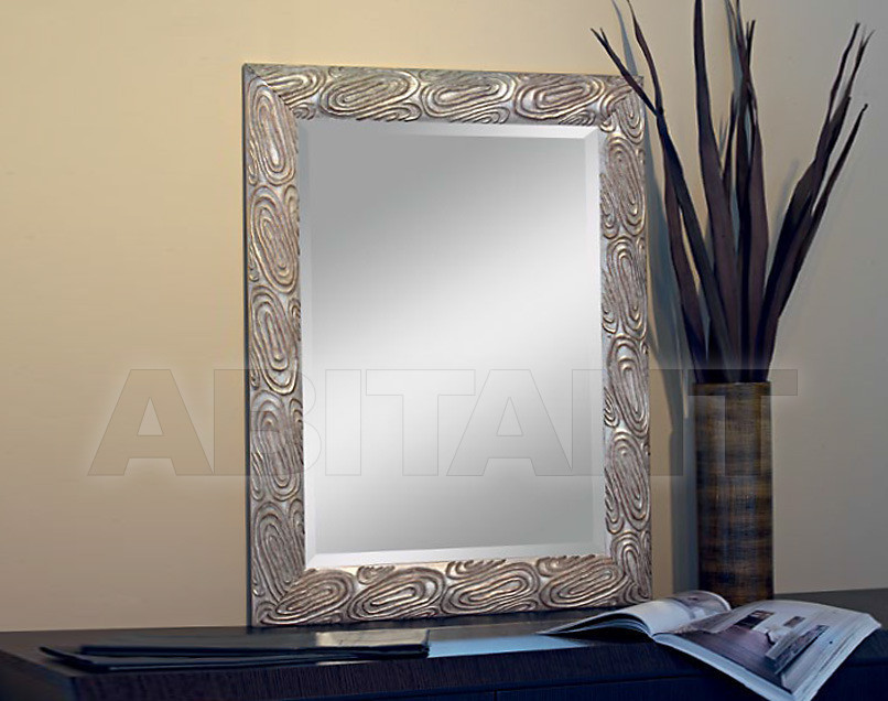 Купить Зеркало настенное GIULIACASA By Vaccari International Gli Specchi Di Alice 1 8 5 2 argento