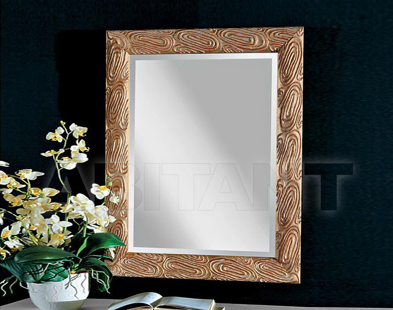 Купить Зеркало настенное GIULIACASA By Vaccari International Gli Specchi Di Alice 1 8 5 2 oro