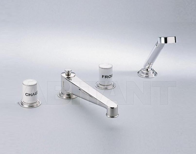 Купить Смеситель для ванны THG Bathroom G2K.112BSG Faubourg white porcelain