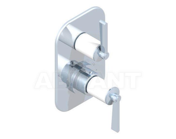 Купить Смеситель термостатический THG Bathroom G2J.5300B Faubourg white porcelain with lever