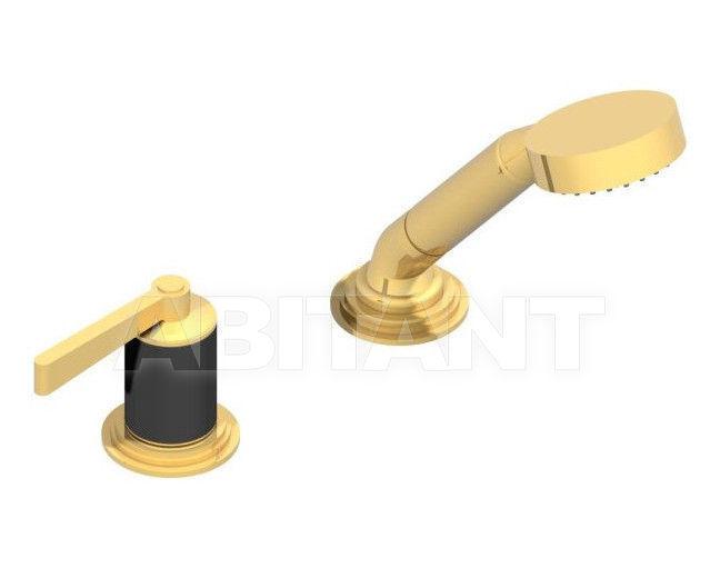 Купить Смеситель для ванны THG Bathroom G2M.6532/60A Faubourg black porcelain with lever