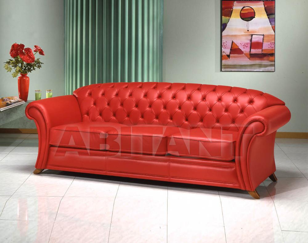 Купить Диван BEVERLY Elle Salotti International srl Neo Classic BEVERLY DIVANO 3 POSTI P E L L E 3