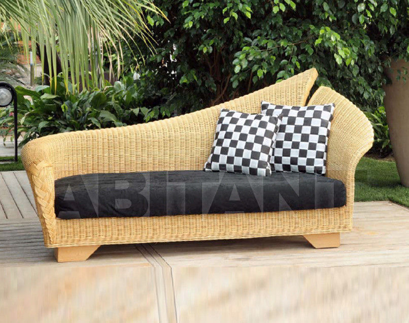 Купить Кушетка Frigerio Carlo Rattan Living DELFINO 3 seater sofa