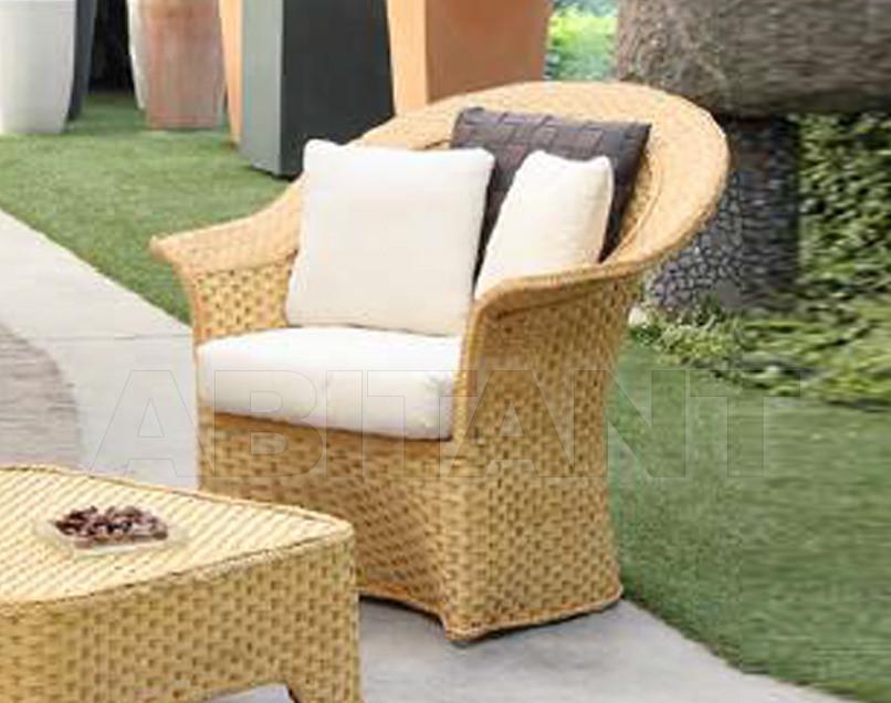 Купить Кресло для террасы Frigerio Carlo Rattan Living DORA armchair