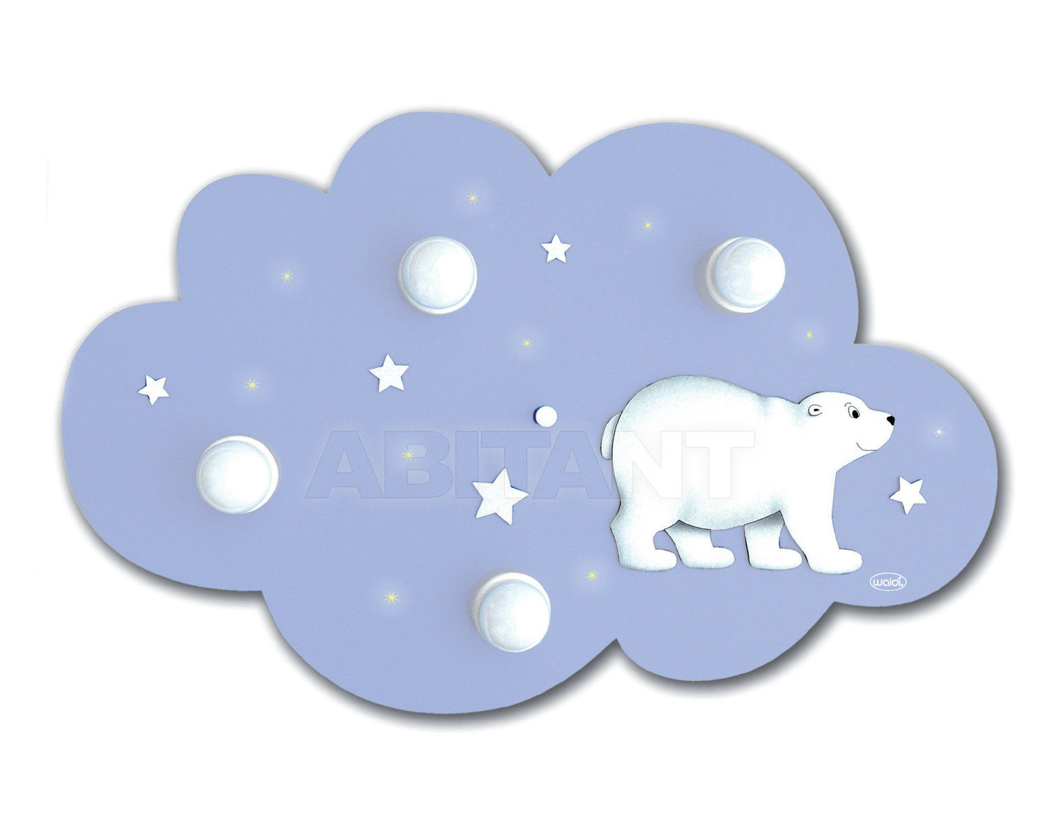 Купить Светильник для детской  Waldi Leuchten Lampen Fur Kinder 2012 66101.0