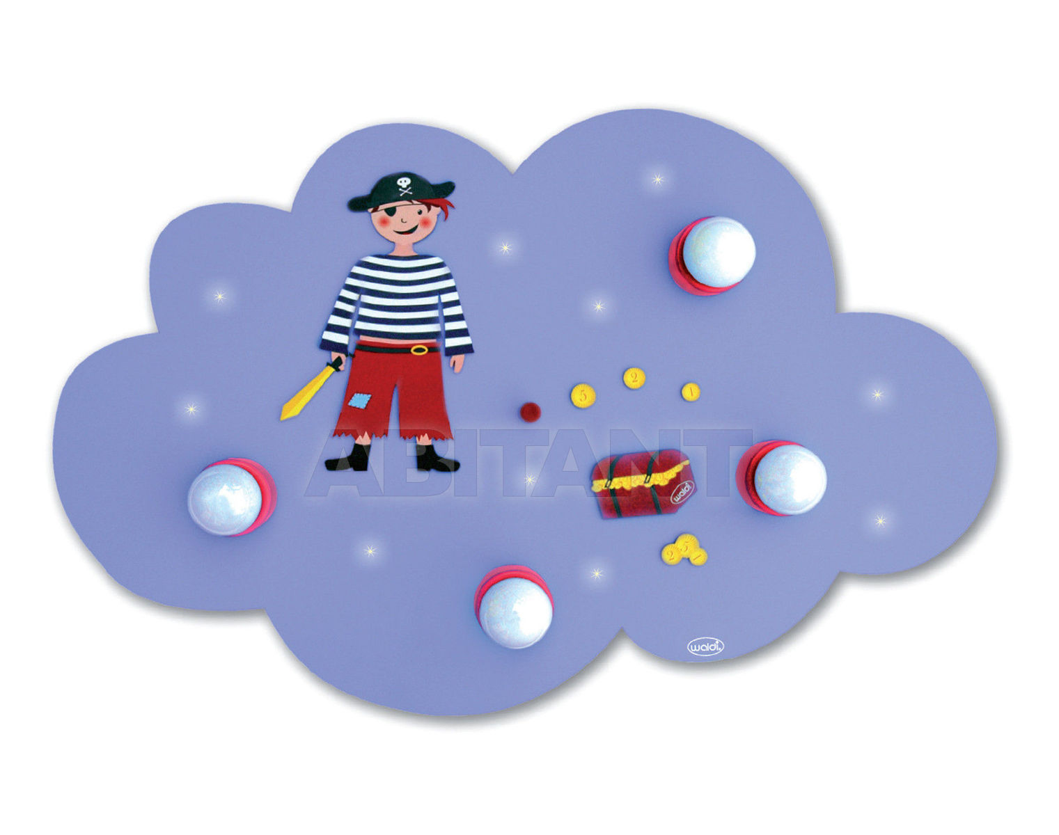 Купить Светильник для детской  Waldi Leuchten Lampen Fur Kinder 2012 66104.0