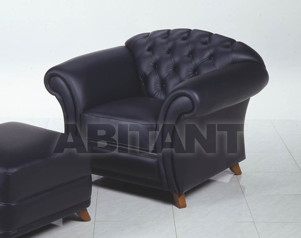 Купить Кресло BEVERLY Elle Salotti International srl Neo Classic BEVERLY POLTRONA P E L L E 4