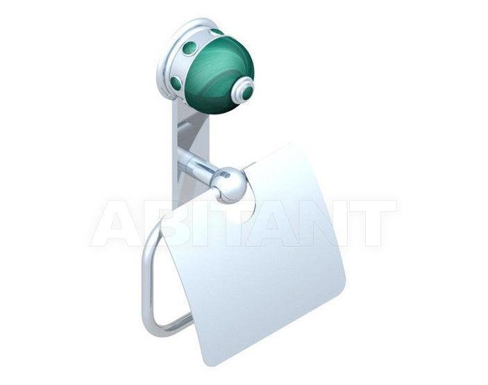 Купить Держатель для туалетной бумаги THG Bathroom A1V.538AC Sully Malachite