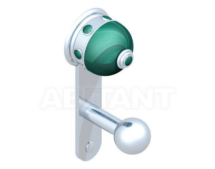 Купить Крючок THG Bathroom A1V.517 Sully Malachite